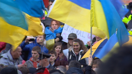 Unrest continues in the Ukraine