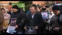 Ukrainians in Ireland hold solidarity protest