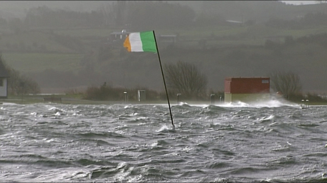 Met Éireann has said that winds of up to 85km/h had been recorded in places last night