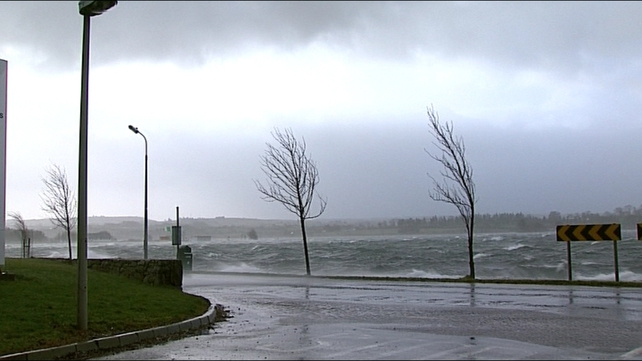 Forecasters have predicted wind gusts of up to 130km/h