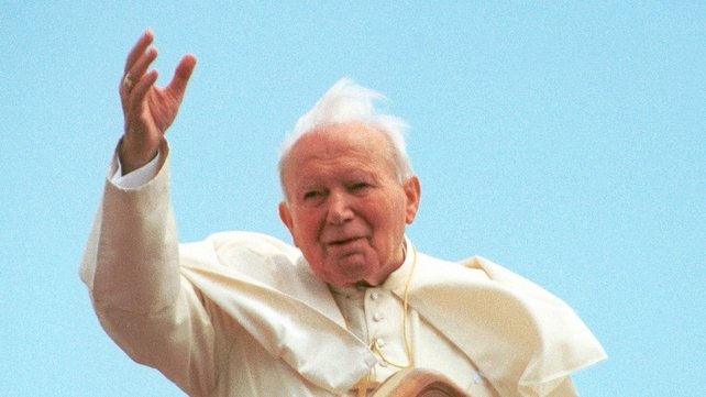 Pope John Paul II reportedly loved to go skiing in Italy