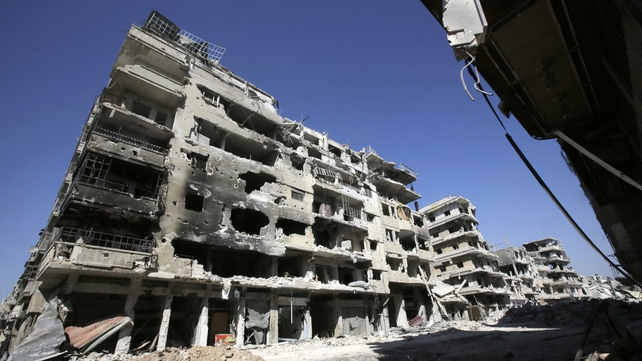 Aid workers have described the situation in Homs as 'purely medieval'