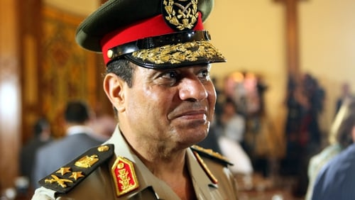 Army chief Field Marshal Abdel Fattah al-Sisi is expected to run for president