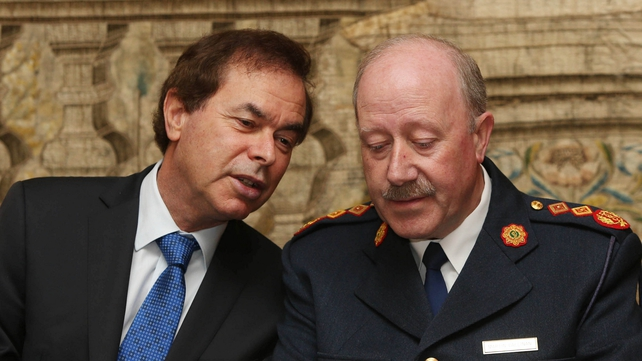 Garda Commissioner Martin Callinan welcomed the decision by the Minister for Justice Alan Shatter