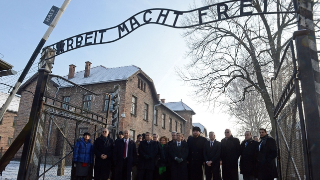 It is the 69th anniversary of the liberation of the Nazi death camp