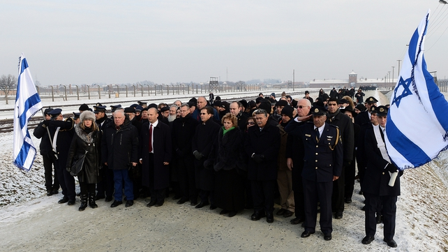 The members of the Knesset also toured the Birkenau concentration camp