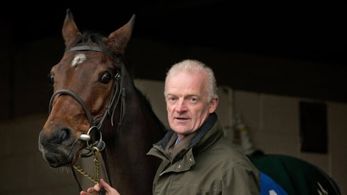 Willie Mullins scored on the double at Navan