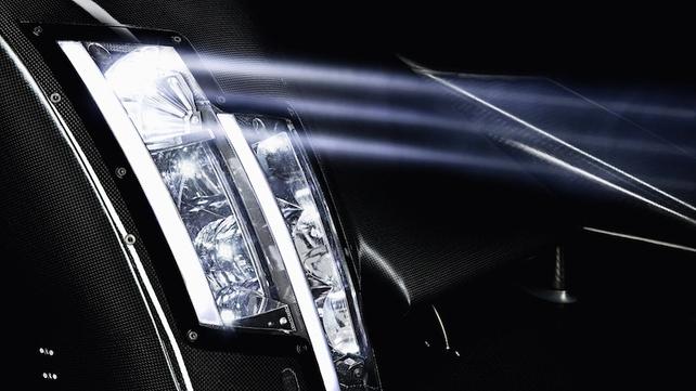Laser high beams!