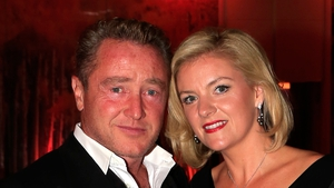 Michael Flatley and his wife Niamh O'Brien