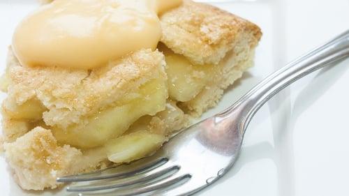 Neven Maguire's Apple Tart with Custard
