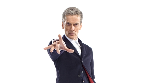 Peter Capaldi made his Doctor Who debut last night