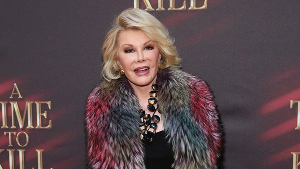 Joan Rivers: ''How can I possibly make jokes about Rihanna if I'm looking like a piece of garbage?