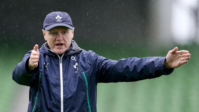 Joe Schmidt believes England offer the greatest threat