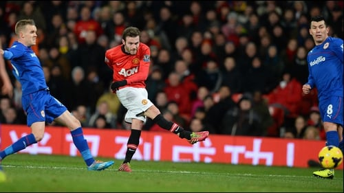 Juan Mata showed some good touches in his first game for Manchester United, against Cardiff
