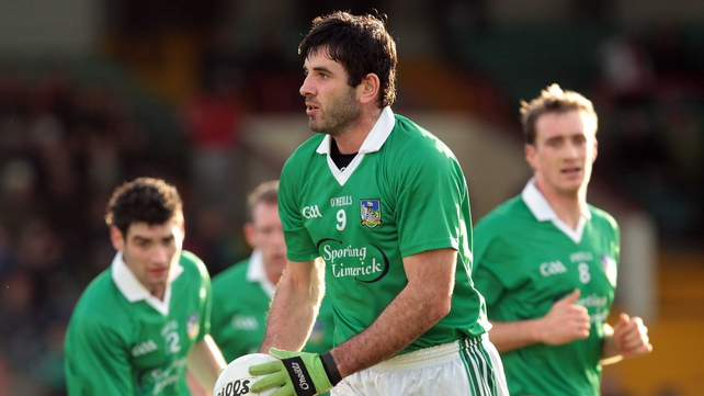 Midfielder Galvin has served the Limerick senior team for 15 seasons