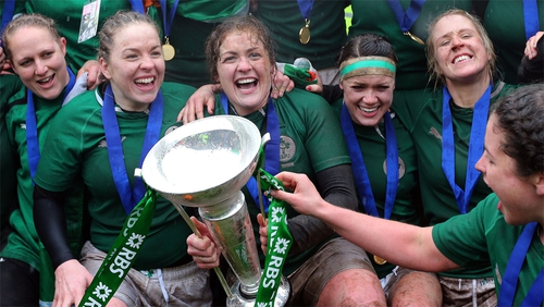 A 33-strong Ireland women's training squad has been assembled prior to the Rugby World Cup