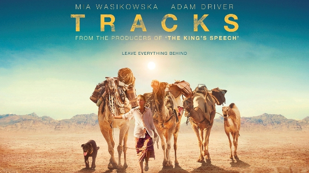 Watch the trailer for Tracks, starring Mia Wasikowska and Adam Driver