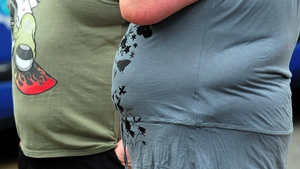 The forecast puts Irish men at the top of an overweight table of 53 countries, matched only by Uzbekistan