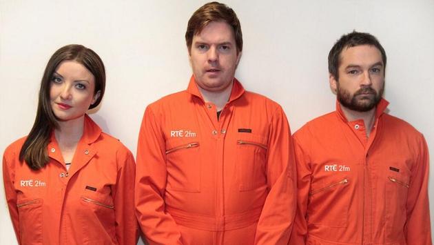 Jennifer Maguire, Bernard O'Shea and Keith Walsh
