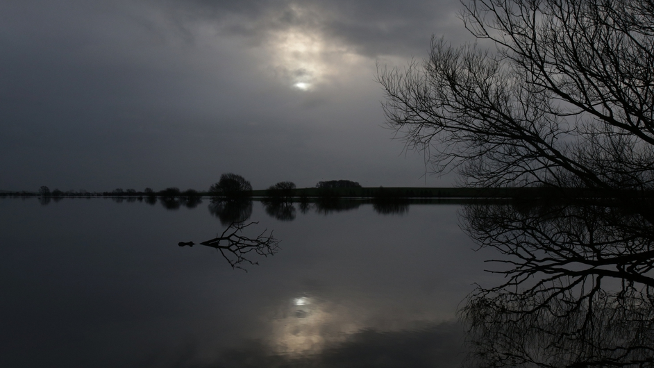 Parts of England have been badly hit by flooding. Large areas of farmland in Muchelney are under water
