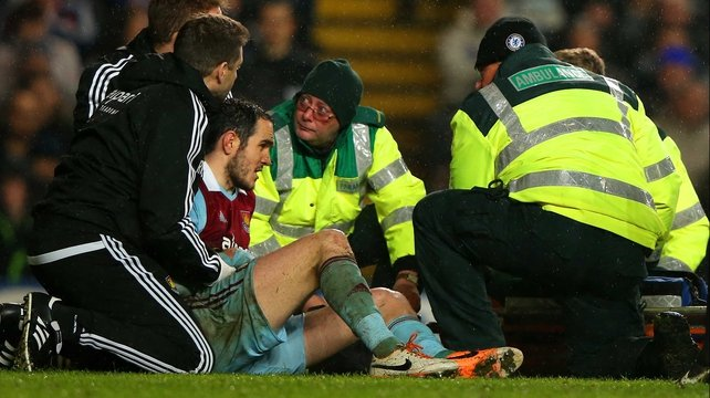 Ireland defender Joey O'Brien will be out injured for the next three months