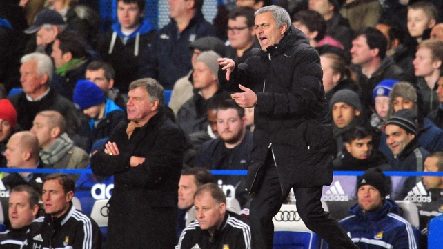 Sam Allardyce's men earned a point at Stamford Bridge