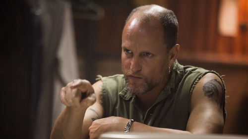 Harlan DeGroat who is played with particularly ugly aplomb by Woody Harrelson