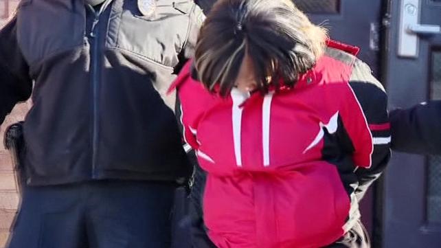 Shantia Dennis has been arrested on suspicion of dealing drugs