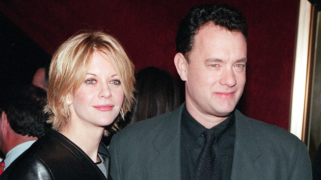 Tom Hanks and Meg Ryan pictured in 1998