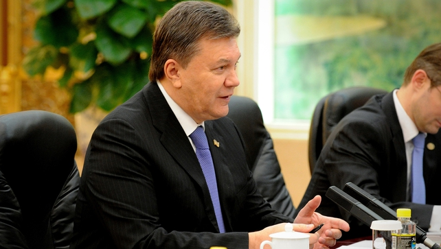 Viktor Yanukovych has been officially registered as sick