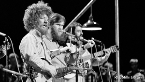 Luke Kelly with the Dubliners in the 1960s