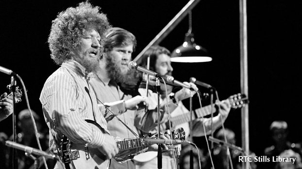 Luke Kelly and The Dubliners on RTÉ Television's 'The Ronnie Drew Show' in September 1970.
