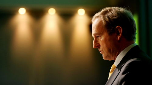 Enda Kenny said St Patrick's Day is about 'our Irishness and not about our sexuality'