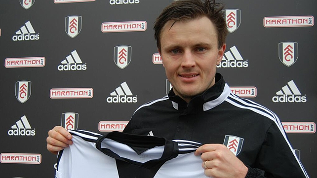 William Kvist has signed a loan deal until the end of the season, at which time Fulham have the option to buy
