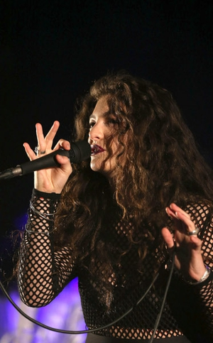 Lorde seems to be having a tough time with all of the attention since she returned to her home country of New Zealand