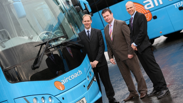 The new coaches will be used on the route connecting Cork to Dublin Airport
