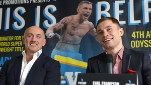 Carl Frampton: 'I believe that the next 12 months will bring me even more success and, more importantly, the World title'
