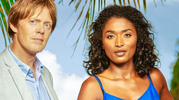 Death In Paradise - the meticulously-planned murder of an air hostess is investigated tonight, BBC One