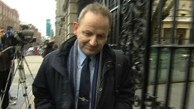 Maurice McCabe gave evidence at the Public Accounts Committee yesterday