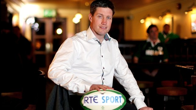 Ronan O'Gara will be on hand to offer his insights into Ireland's 6 Nations campaign
