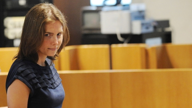 Amanda Knox said she will only be extradited to Italy 'kicking and screaming'