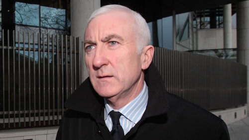 Denis Casey denied agreeing a scheme to mislead depositors, investors and lenders about the true health of Anglo