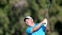 Damien McGrane is happy to be in contention after his second round in Dubai