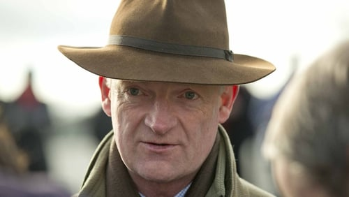 Willie Mullins fancies Rubi Ball's chances in the Hennessy Gold Cup