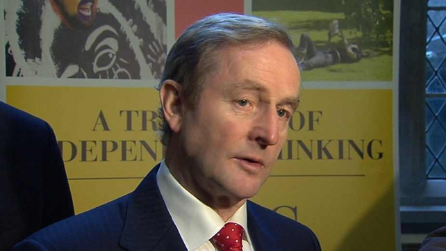 Enda Kenny said the tax model used by Ireland could be replicated in other countries