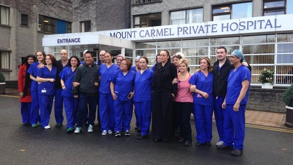 The last baby was born at Mount Carmel Hospital on the day 200 staff lost their jobs