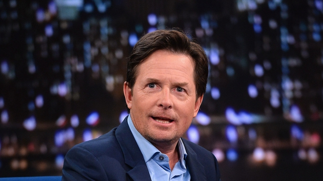 Michael J Fox played time-travelling teen Marty McFly in the movies