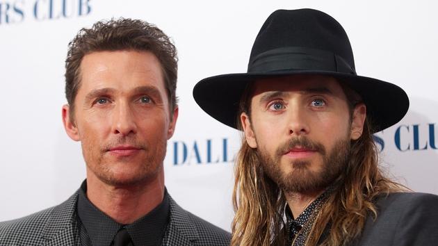 Matthew McConaughey and Jared Leto both star in Dallas Buyers Club