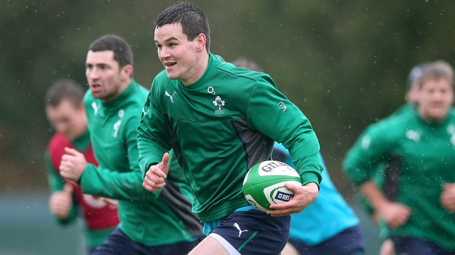 Jonathan Sexton - he and Conor Murray carry a physical threat that will challenge the Scottish defence