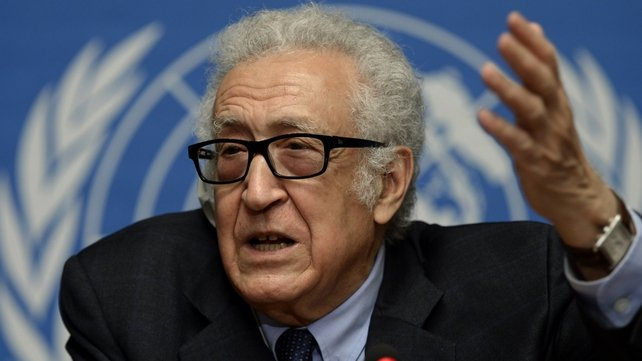 Lakhdar Brahimi said that progress is very slow, but the sides have engaged in an acceptable manner